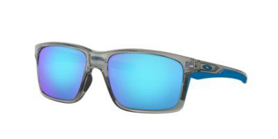 oakley blue sunglasses  Oakley OO9264 MAINLINK 57 Blue \u0026 Grey Sunglasses