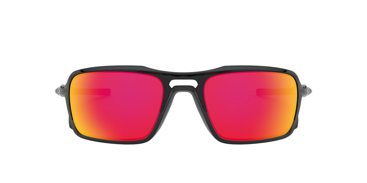 OAKLEY Black TRIGGERMAN Orange lenses 59mm