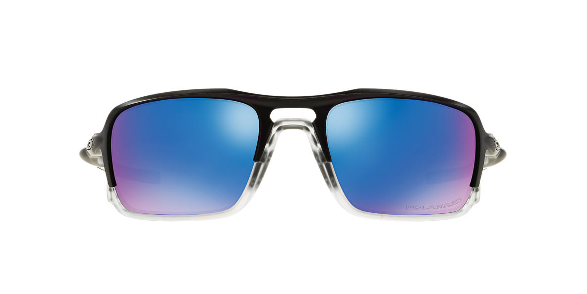 OAKLEY Black OO9266 59 TRIGGERMAN Blue polarised lenses 59mm