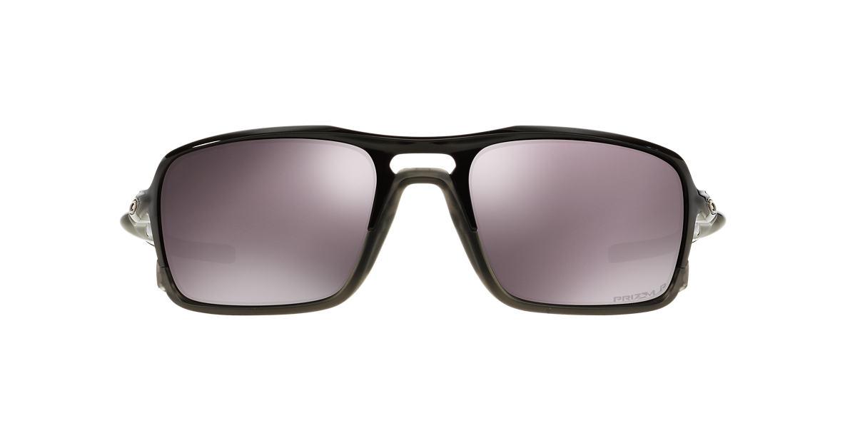 OAKLEY Black TRIGGERMAN Pink polarised lenses 59mm