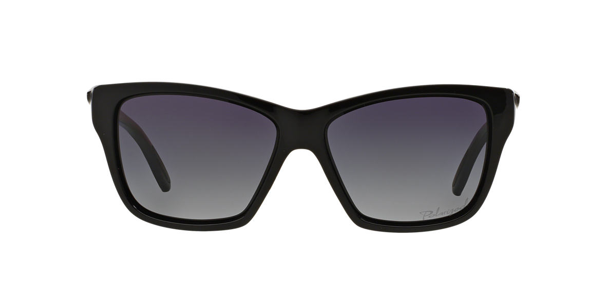 omfuv Oakley Women\'s OO9298 HOLD ON 58 Grey & Black Polarized Sunglasses