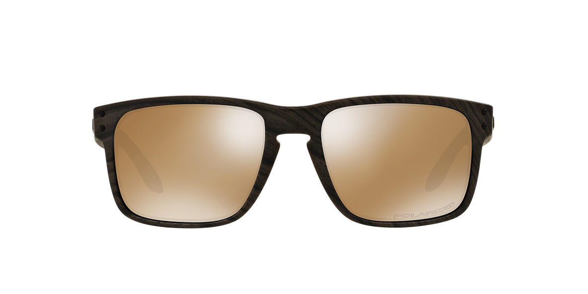 OAKLEY Brown OO9102 HOLBROOK Grey polarized lenses 55mm