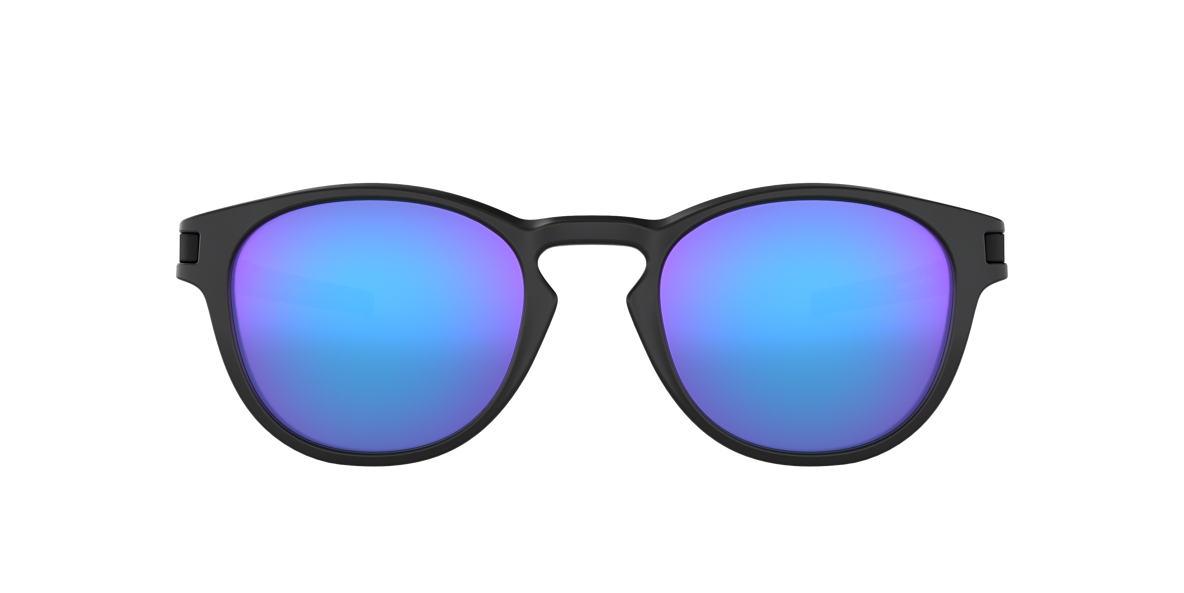 OAKLEY Black LATCH Purple lenses 53mm