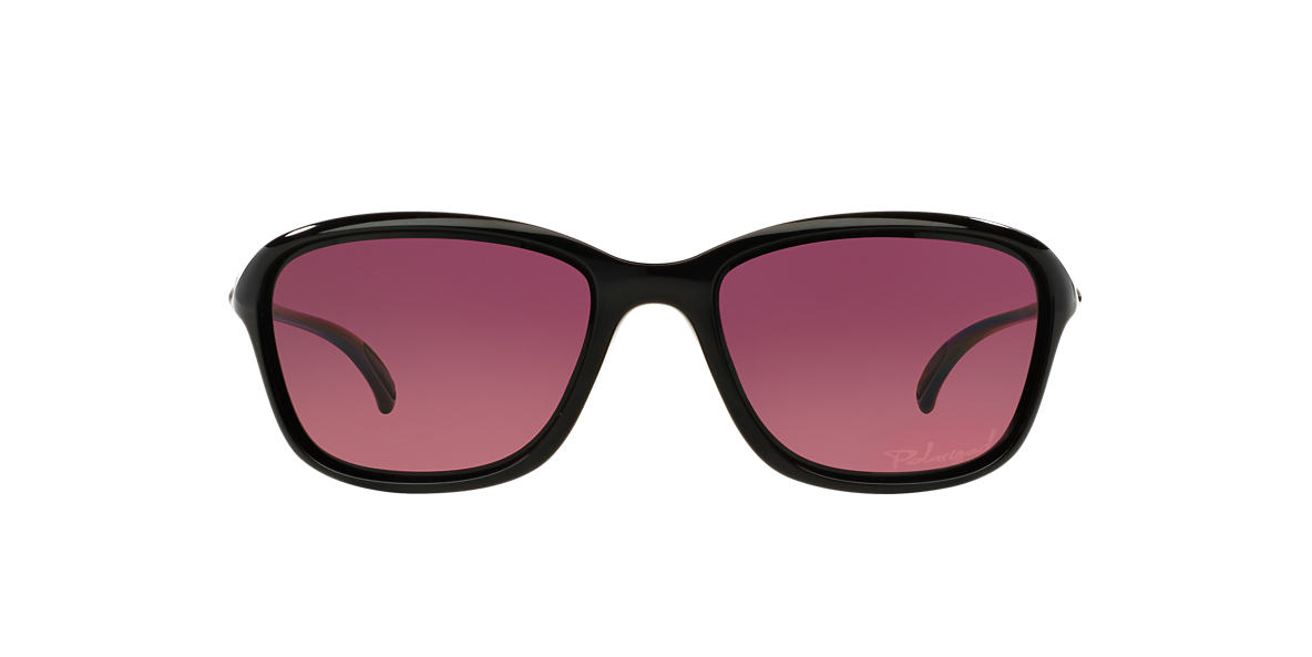 OAKLEY WOMENS Black OO9297 57 SHE'S UNSTOPPABLE Pink polarized lenses 57mm