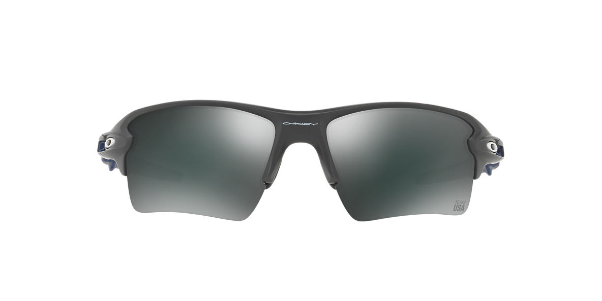 OAKLEY Grey OO9188 59 FLAK 2.0 XL Black lenses 59mm