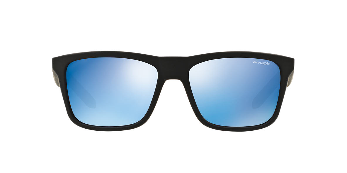 ARNETTE Black Matte AN4217 57 SYNDROME Blue lenses 57mm