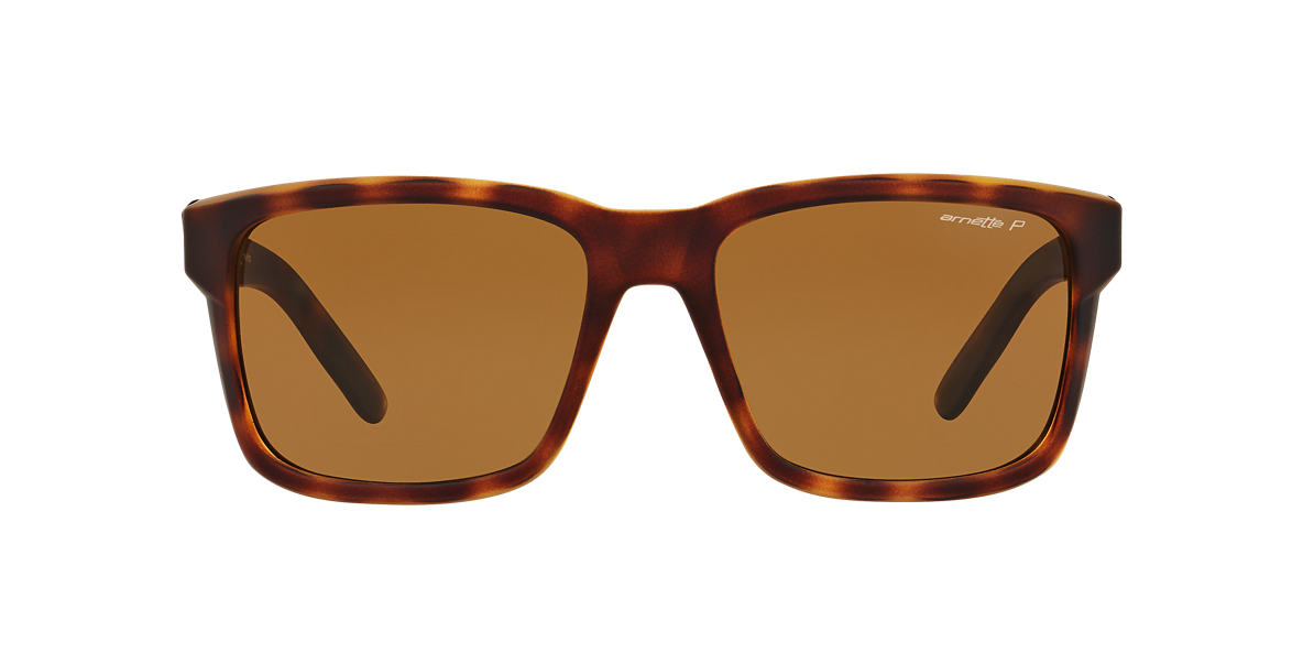 ARNETTE Brown AN4218 Brown polarised lenses 57mm
