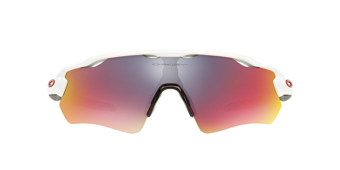 OAKLEY White OO9208 38 RADAR EV PATH Red lenses 38mm