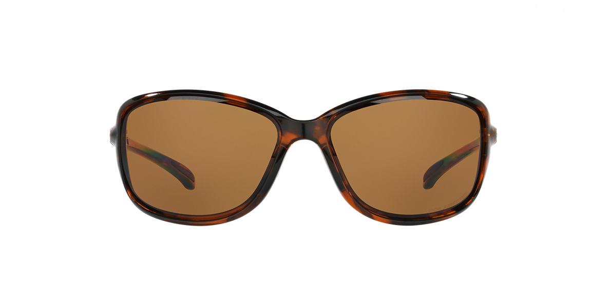 OAKLEY WOMENS Tortoise OO9301 61 COHORT Bronze polarized lenses 62mm