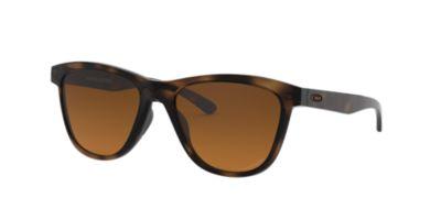 oakley womens sunglasses  Oakley Women\u0027s MOONLIGHTER 53 Brown \u0026 Tortoise Polarised ...