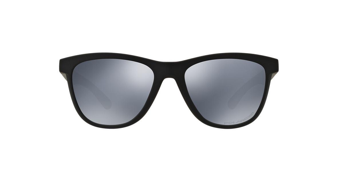 OAKLEY WOMENS Gunmetal OO9320 53 MOONLIGHTER Black polarized lenses 53mm