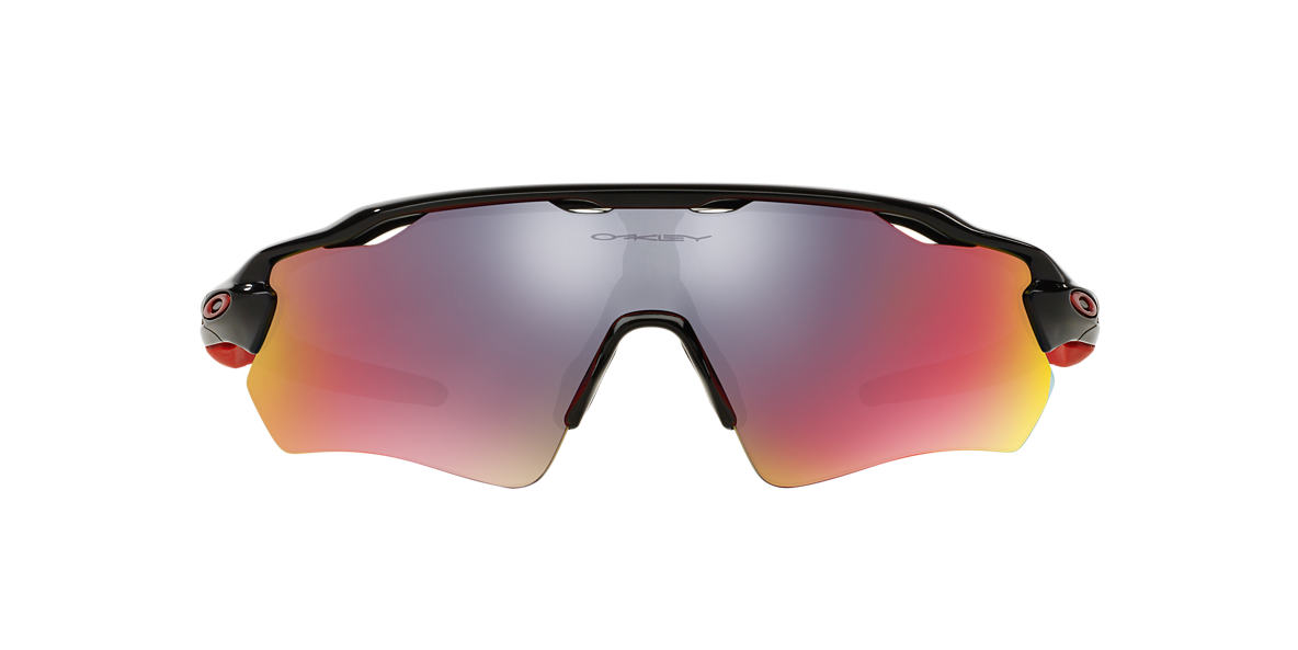 OAKLEY Black OO9208 38 RADAR EV PATH Red lenses 38mm