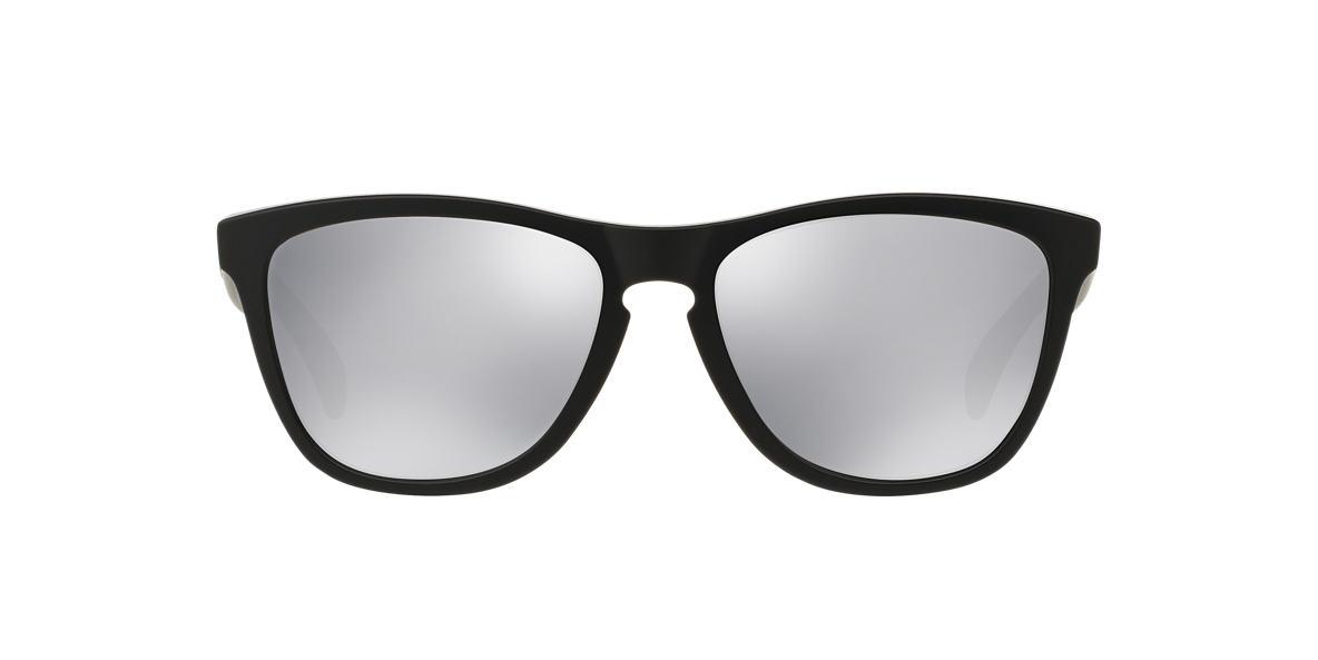 OAKLEY Black Matte OO9013 FROGSKIN Silver lenses 55mm