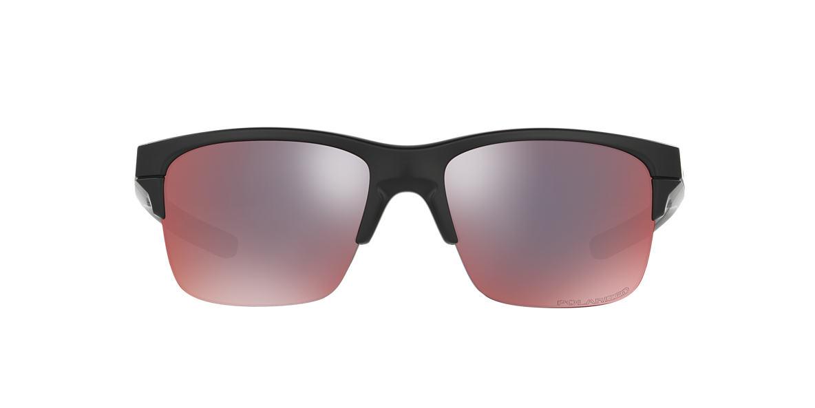 OAKLEY Black THINLINK Red polarised lenses 63mm