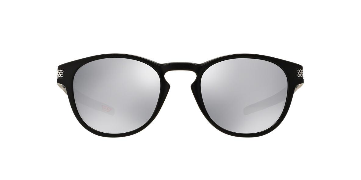 OAKLEY Black Matte OO9265 53 LATCH Silver lenses 53mm