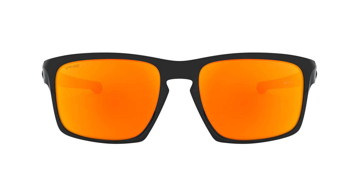 OAKLEY Black OO9262 57 SLIVER Orange lenses 57mm