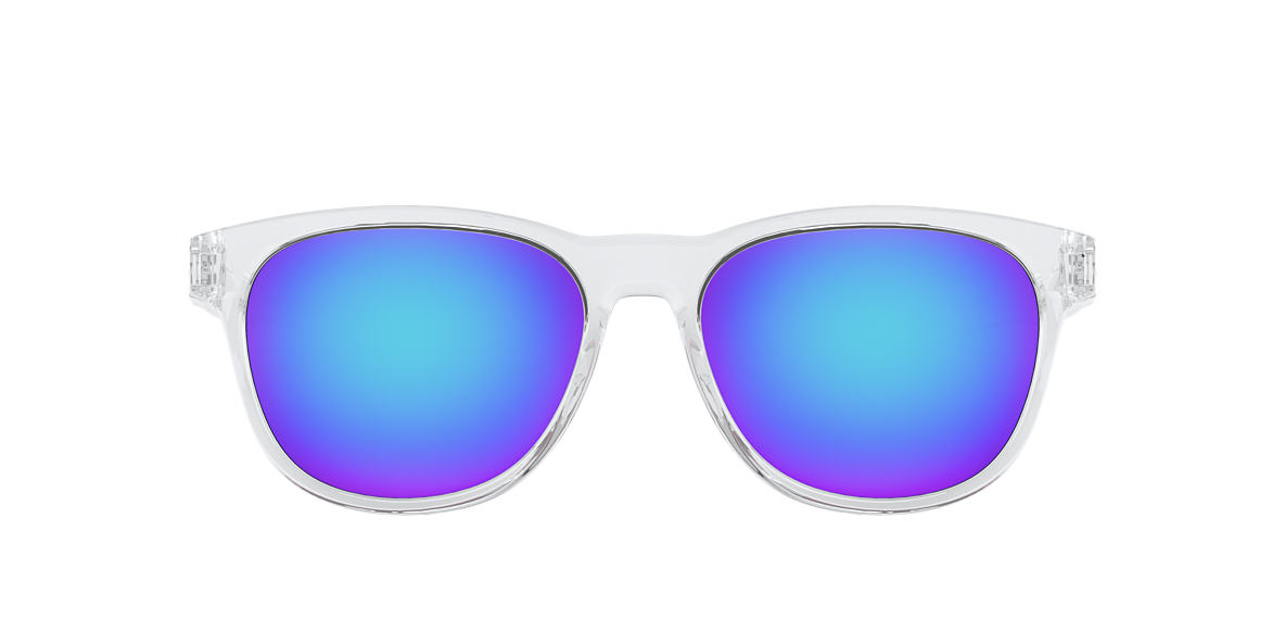 OAKLEY Clear/White STRINGER Blue lenses 55mm