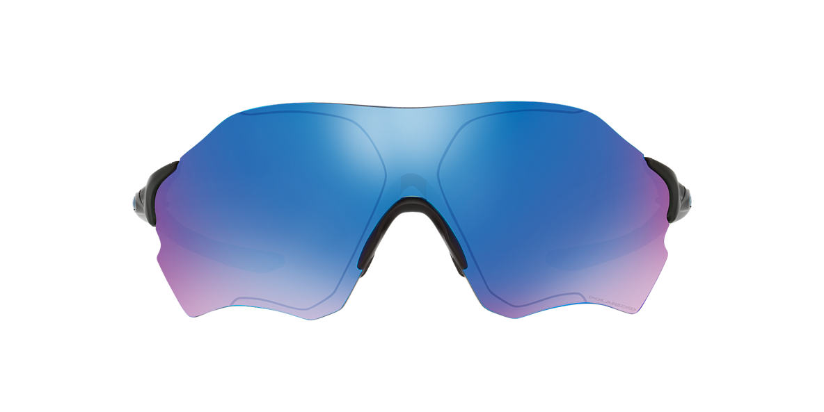 OAKLEY Black Matte OO9327 38 ZERO 0.9 Blue polarized lenses 38mm