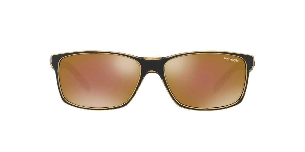 ARNETTE Gold AN4185 SLICKSTER Gold lenses 58mm