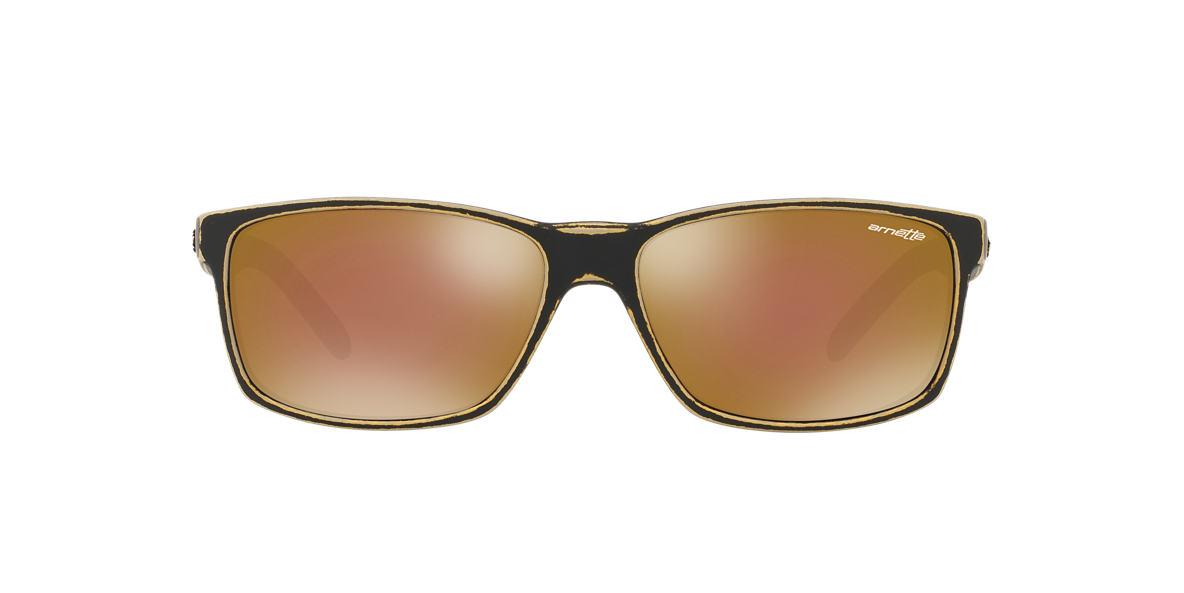 ARNETTE Gold Matte AN4185 SLICKSTER Gold lenses 58mm