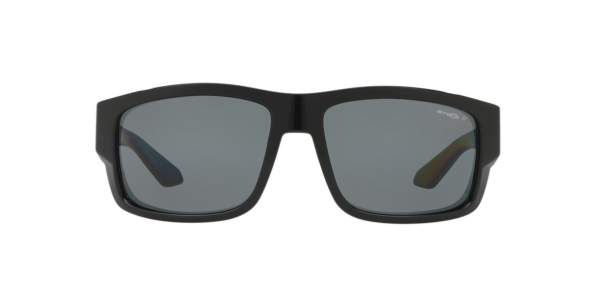 ARNETTE Black AN4221 62 GRIFTER Grey polarised lenses 62mm