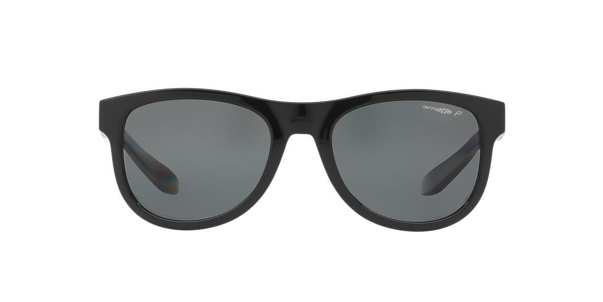 ARNETTE Black AN4222 54 CLASS ACT Grey polarised lenses 54mm