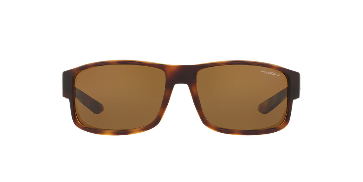 ARNETTE Brown AN4224 59 BOXCAR Brown polarized lenses 59mm