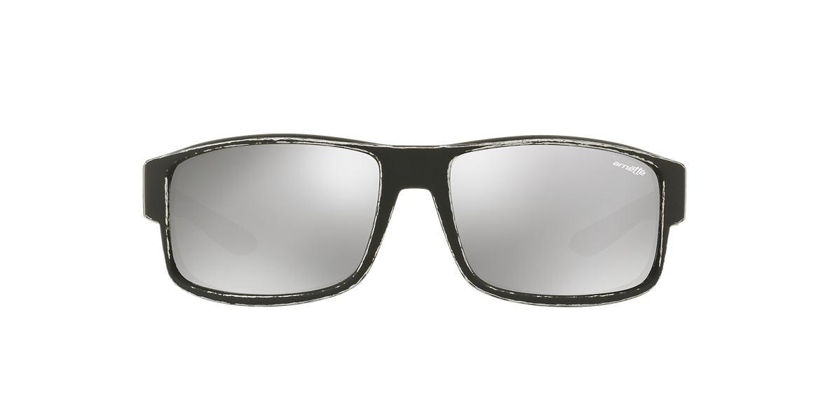 ARNETTE Silver Matte AN4224 59 BOXCAR Silver lenses 59mm
