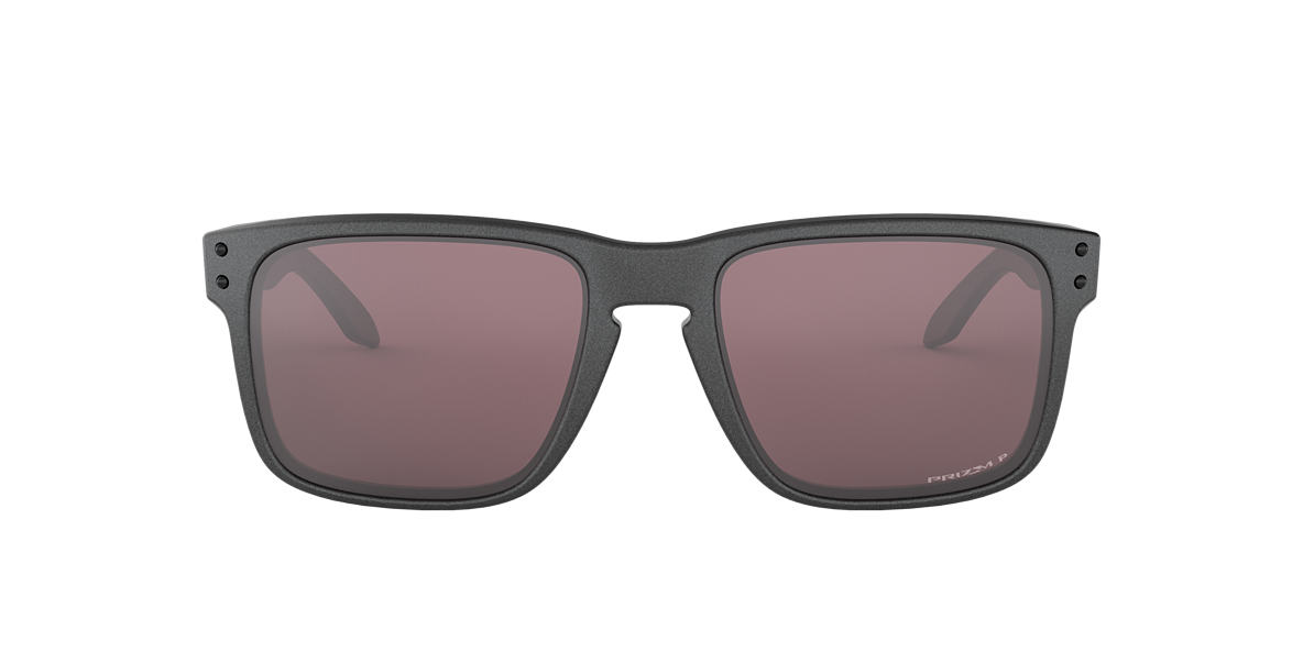 OAKLEY Grey OO9102 HOLBROOK Black polarized lenses 57mm