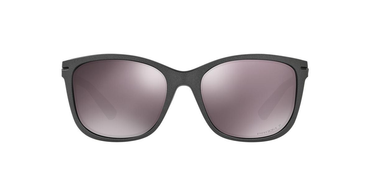 OAKLEY WOMENS Grey OO9232 58 Black polarized lenses 58mm