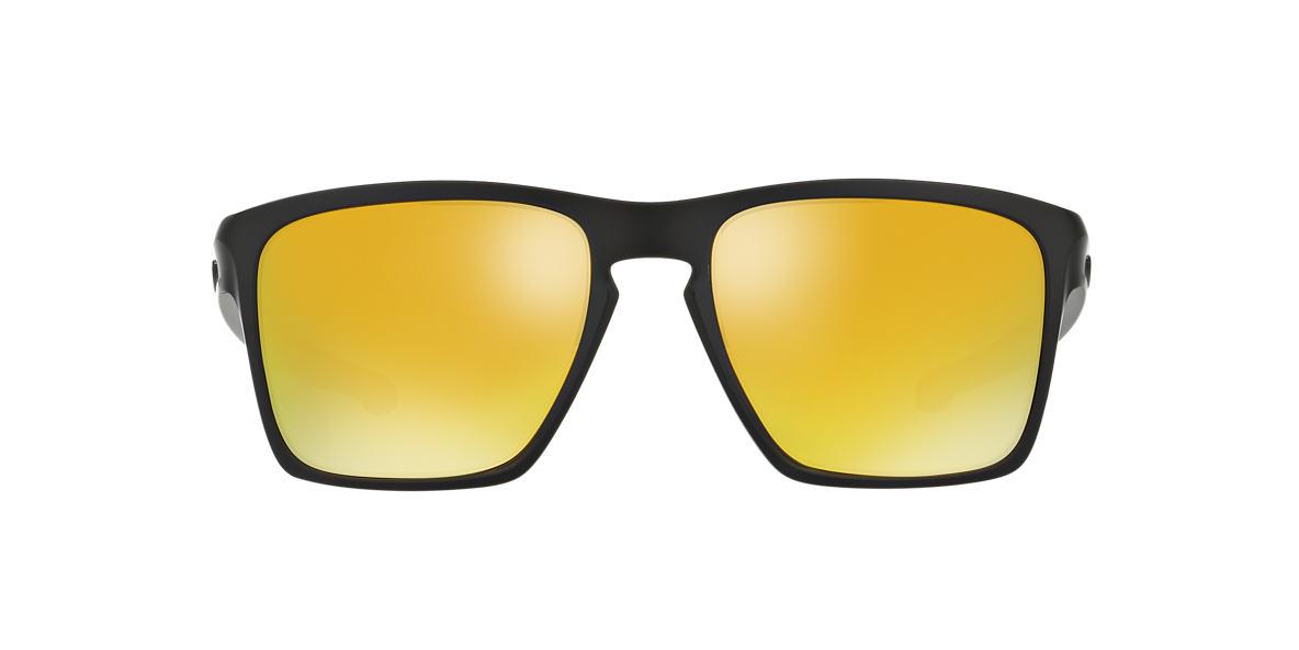 OAKLEY Black Matte OO9341 57 SLIVER XL Gold lenses 57mm