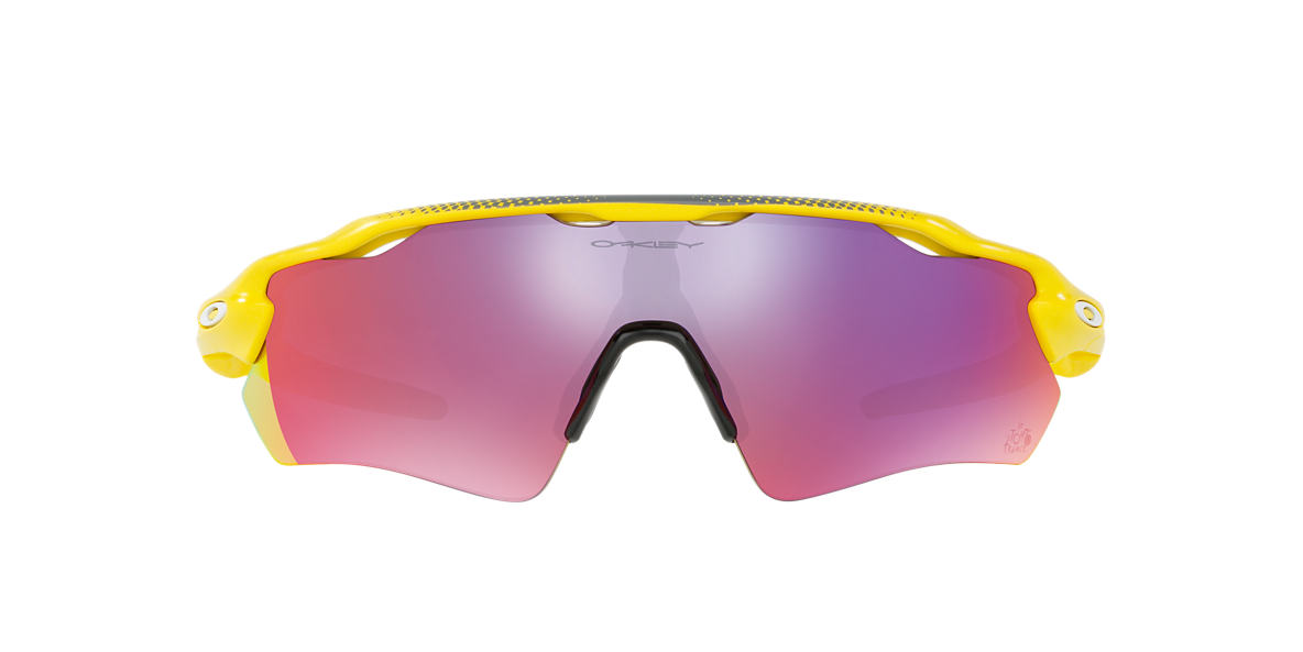 OAKLEY Yellow OO9208 38 RADAR EV PATH Red lenses 38mm