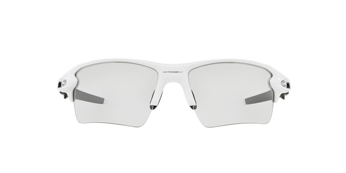 OAKLEY White OO9188 59 FLAK 2.0 XL Black lenses 59mm