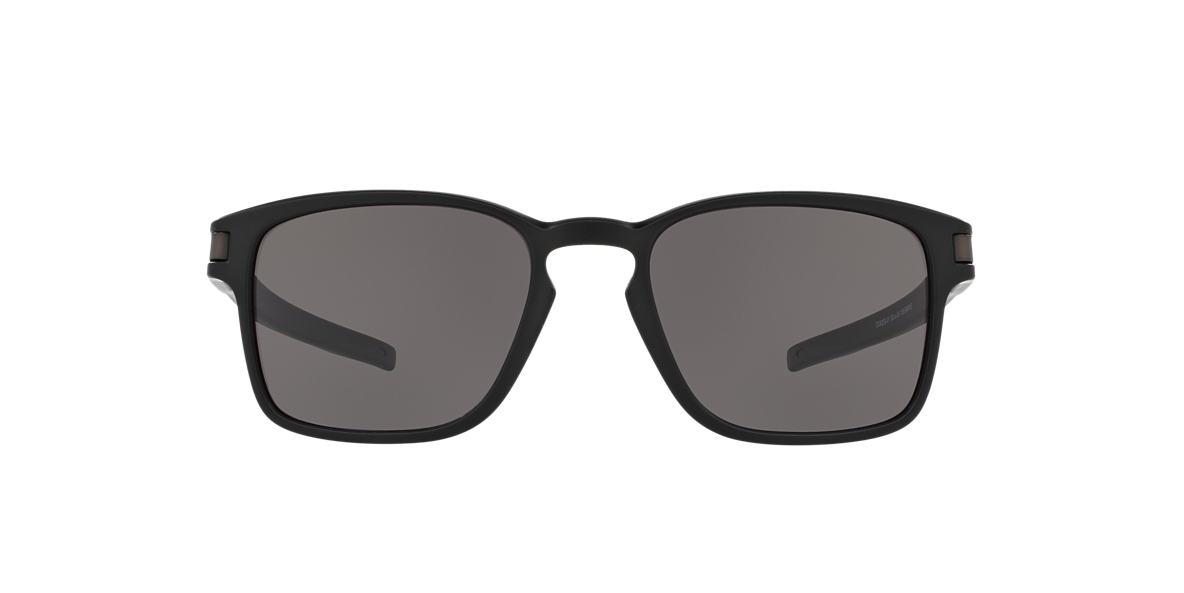 OAKLEY Black Matte OO9353 52 LATCH SQ Grey lenses 52mm