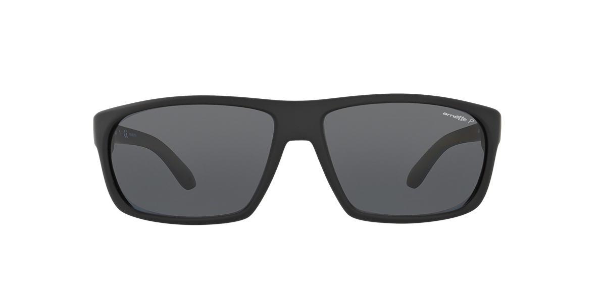 ARNETTE Black AN4225 Grey polarised lenses 64mm