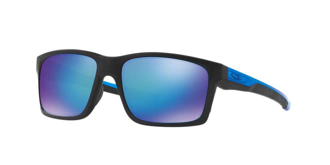 60f5033425a0 Oakley 57 Mainlink Prizm Sapphire Black Matte Rectangle Sunglasses - oo9264