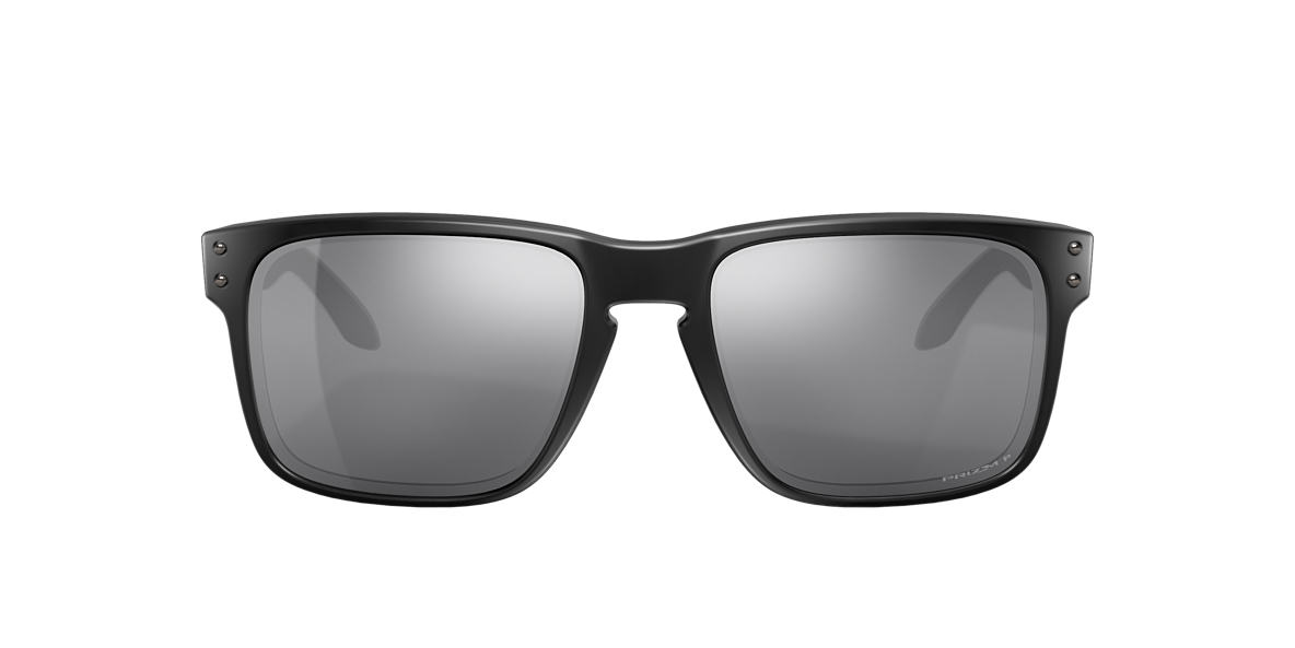 OAKLEY Black Matte OO9102 HOLBROOK Black polarized lenses 57mm