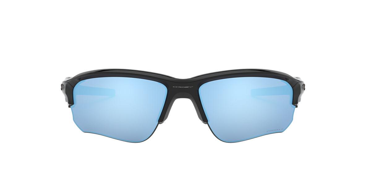 OAKLEY Black OO9364 67 FLAK DRAFT Blue polarized lenses 67mm