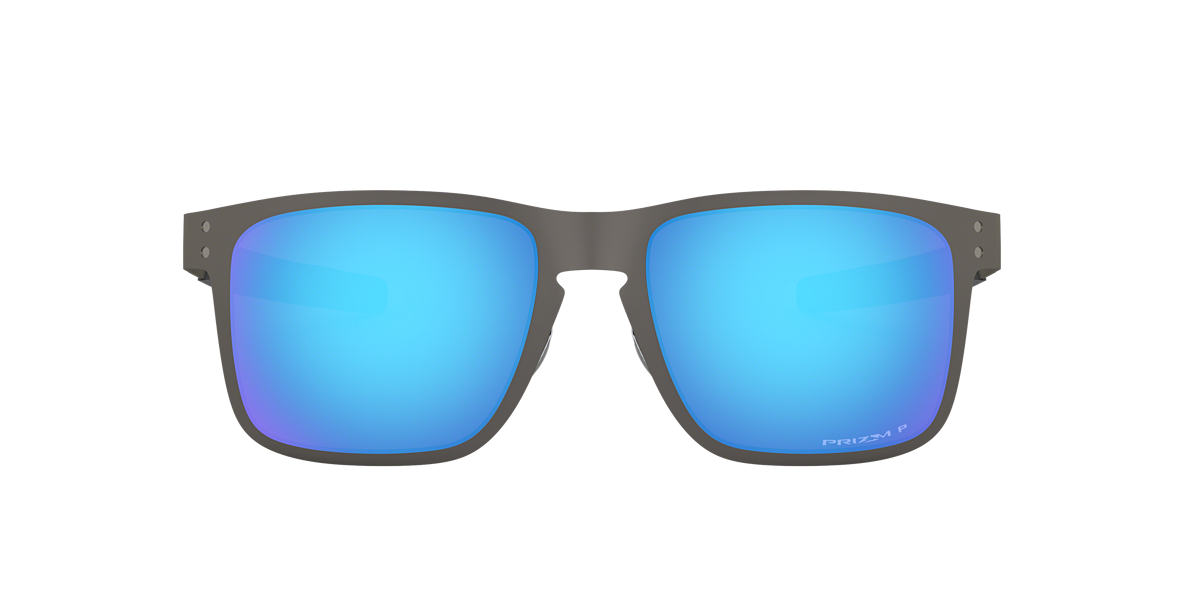 oakley oo4123 55 holbrook metal prizm sapphire 55 blue gunmetal polarized sunglasses sunglass hut usa
