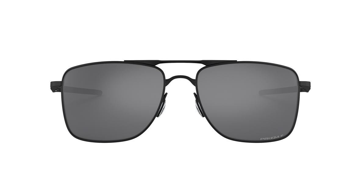 OAKLEY Black Matte OO4124 62 GAUGE 8 Black polarized lenses 62mm