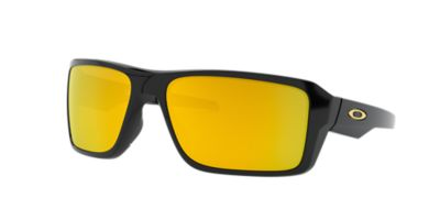 black and gold oakleys  Oakley OO9380 66 DOUBLE EDGE 66 Gold \u0026 Black Sunglasses
