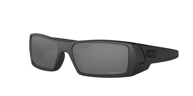 Oakley 60 Gascan Prizm Black Silver Rectangle Sunglasses - oo9014 888392294128