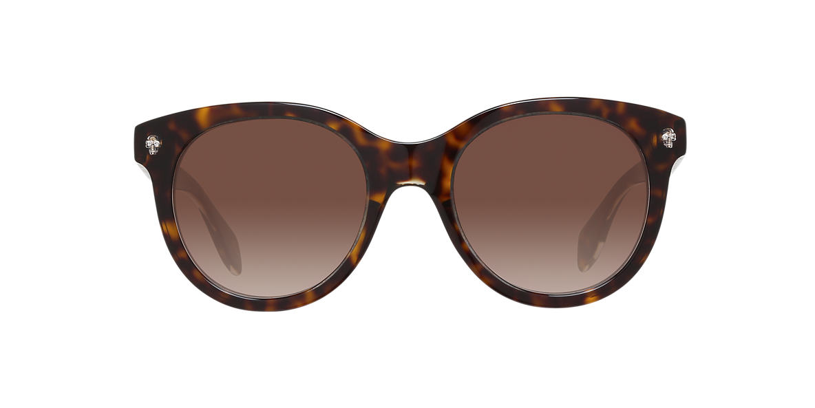 ALEXANDER MCQUEEN Brown AMQ0024S  50 Brown lenses 50mm