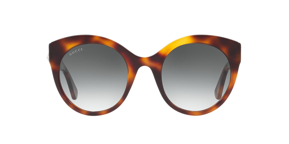 GUCCI Brown GG0028S 52 Green lenses 52mm