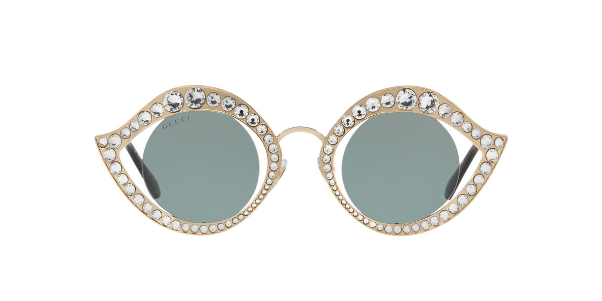 GUCCI Gold GG0046S 41 Green lenses 41mm