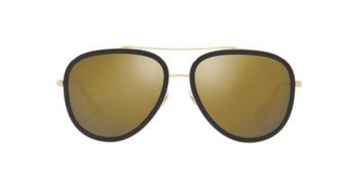 Gucci GG0062S 57 Gold & Gold Sunglasses Sunglass Hut USA