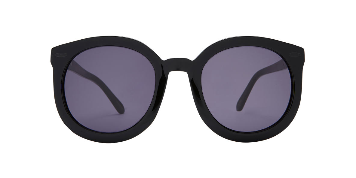 KAREN WALKER Black KAS08806011 Grey lenses 99mm