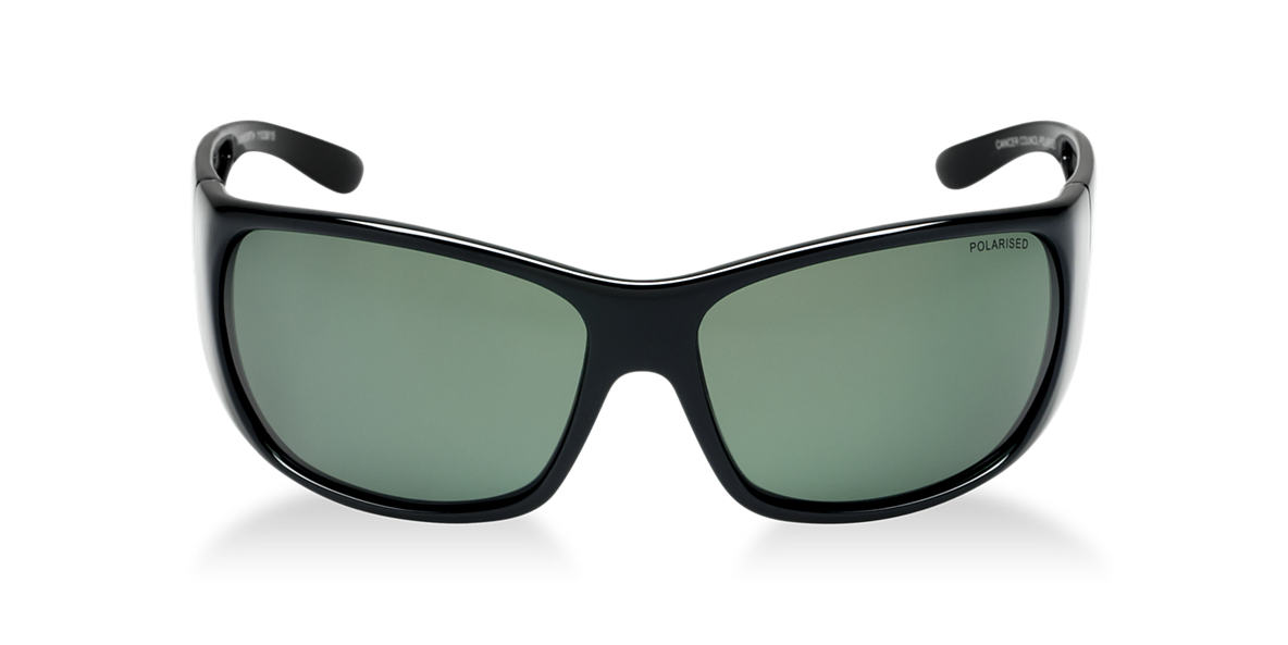 CANCER COUNCIL Black TCC1103815 Green polarised lenses 99mm