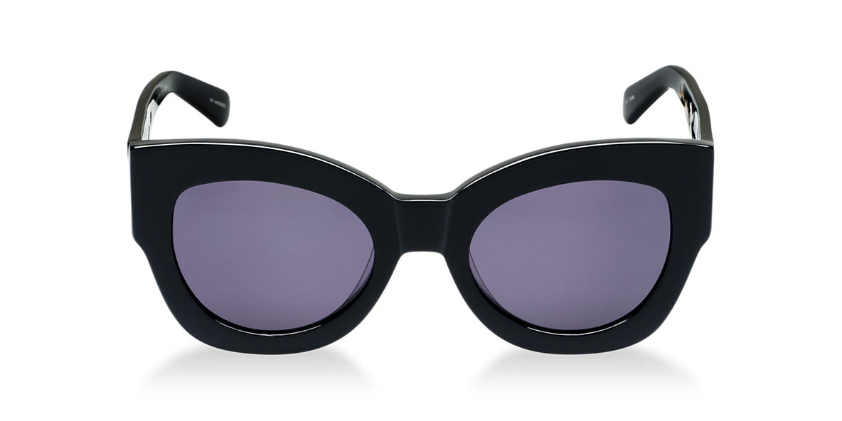 KAREN WALKER Black 1301485 Grey lenses 51mm