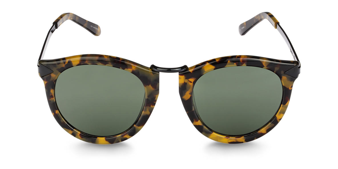 KAREN WALKER Tortoise KAS1301499 Grey lenses 50mm